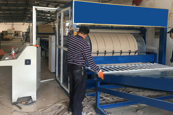 2200 Paper Honeycomb Core Machine